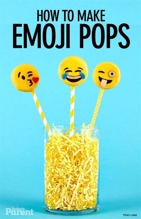 cookie emoji how to make emoji cookie pops emoji birthdays and