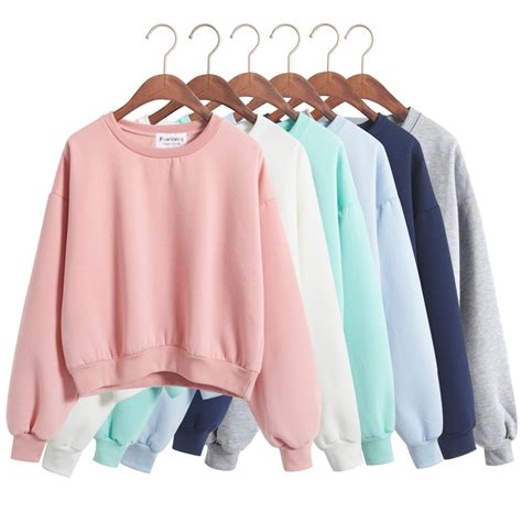 Harajuku New new harajuku fashion color plain sweaters