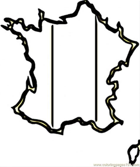 coloring pages map of francde countries gt france free