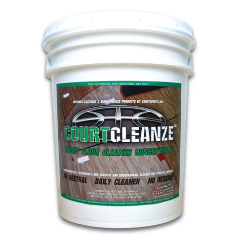 COURTCLEANZE? CONCENTRATE ? 5 GAL   COURTSPORTS Store