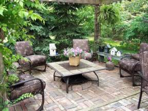 Patio Table Decor Bloombety Outdoor Patio Ideas With Table Decoration