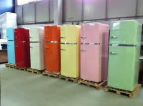 colored refrigerators big chill uk retro european fridge