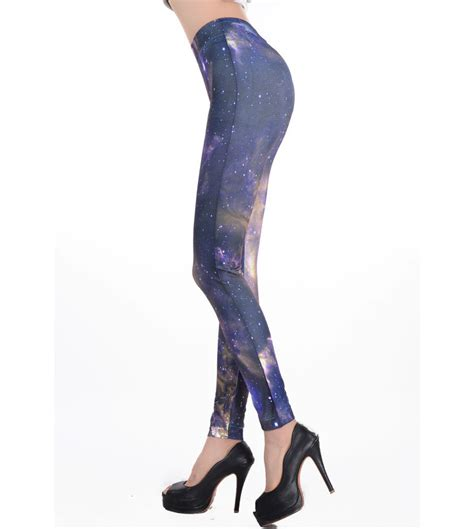 pattern leggings of the night sky elegant serene night sky leggings l7499