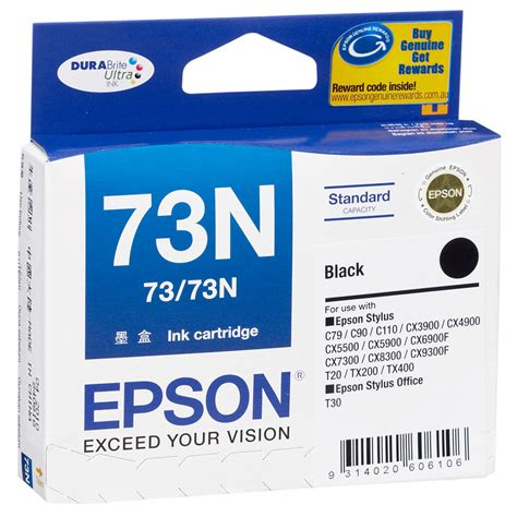 Harga Spesial Ori Tinta Epson T6731 Black jual tinta epson 73 73n black original harga spesifikasi