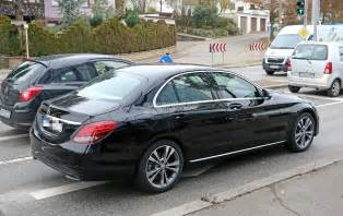Mercedes Classe C 2018 Mercedes C Class Facelift Shows Interior For The