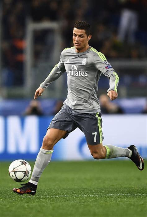 Cristiano Ronaldo Gray cristiano ronaldo real madrid kit grey