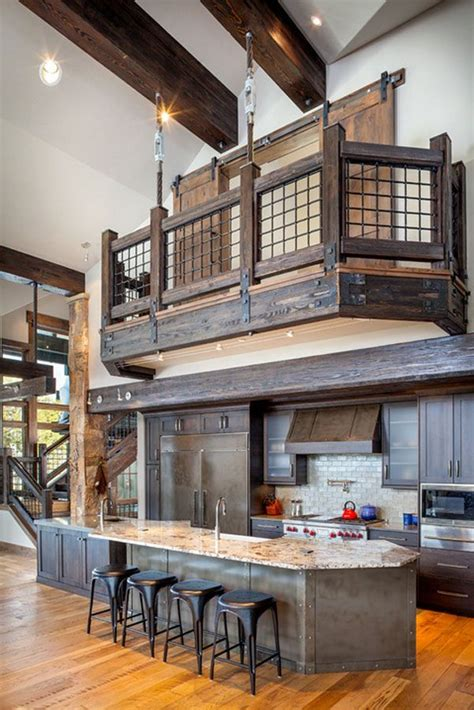 53 sensationally rustic kitchens in mountain homes 1000 best images about at the lodge on pinterest