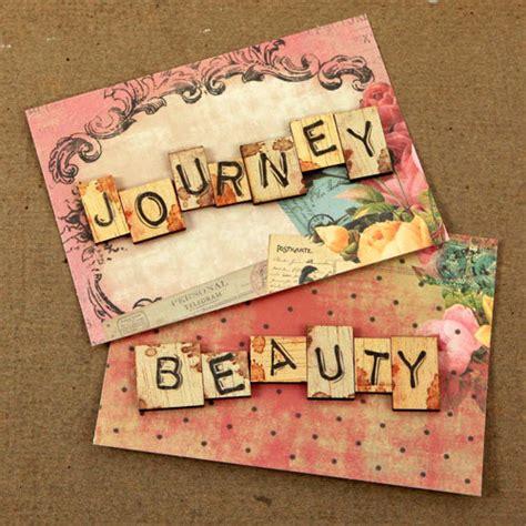scrabble journey prima novel collection wood embellishments