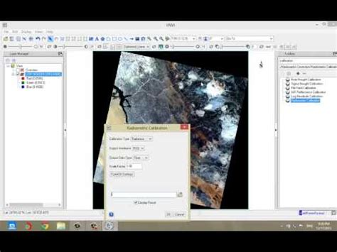arcgis qt tutorial ndvi from surface reflectance image envi doovi