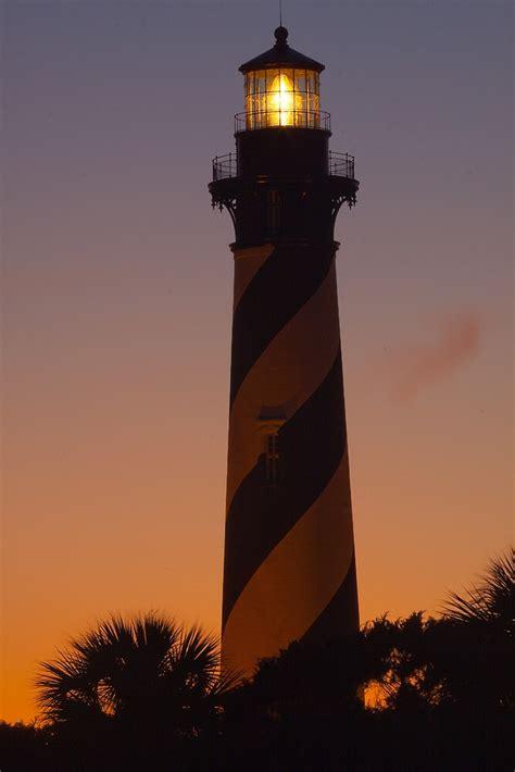 st augustine lighthouse  sunset  rick montgomery