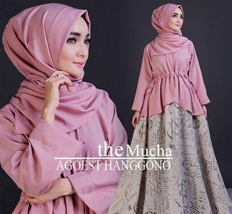 Atasan Garsel Fashion Fbt 2000 trend baju busana muslim wanita dan pria lebaran 2016 m 1437 h terbaru