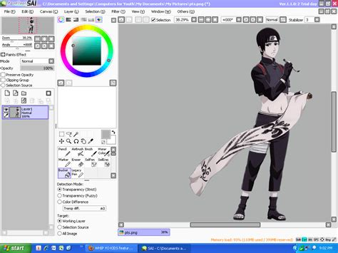 paint tool sai version free no trial painttool sai 1 2 0 free