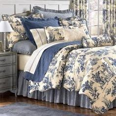 french country toile bedding 1000 images about my blue and white english cottage on pinterest blue and white