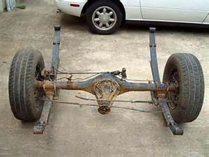 Toyota Rear Axle Import Support Toyota 2wd Rear End