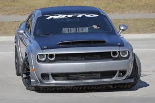Subaru Srt Possible 2018 Dodge Challenger Srt Prototype 07