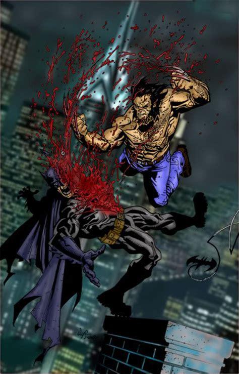 The Prestige A Reviewits Batman Vs Wolveri by Batman Vs Wolverine Bone Claws Battles Comic Vine