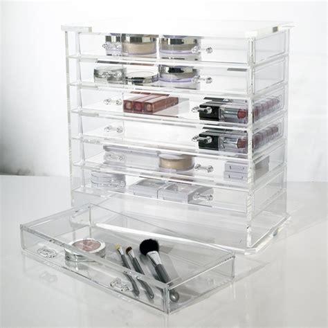 clear acrylic makeup organizer mycosmeticorganizer