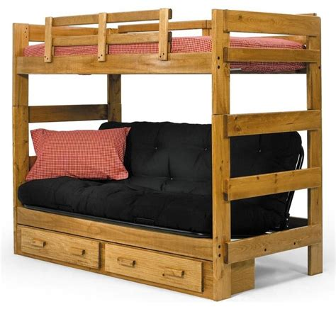 Futon Bunk Bed With Mattresses by Futon Bunk Bed Bunk Beds By