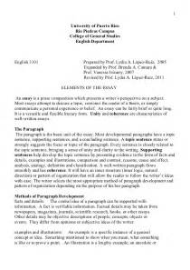 Elements Of Essay Writing by Elements Essay 3101 11