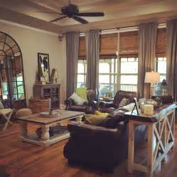 Pinterest Pictures Of Yellow End Tables With Gray warm country cottage living room painted sofa coffee