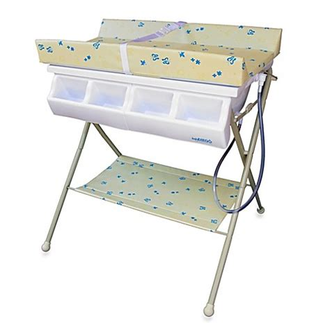 Baby Bath And Change Table Combo Changing Tables Gt Baby Diego Standard Bath Tub Changer Combo In Beige From Buy Buy Baby