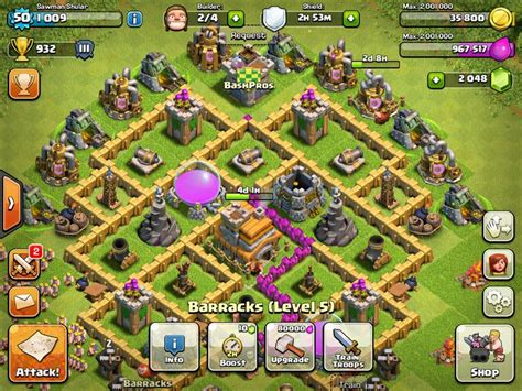 clash of clans strategy level 7 farming base design town hall clash of clans town hall level 7 defense strategy