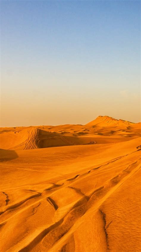 wallpaper desert hot sands dubai  uhd