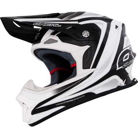 white motocross helmet oneal 2015 8 series race black white motocross helmet mx