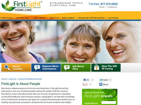 first light home health care business takes advantage of growing market