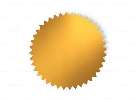 blank seal template golden seal backgroundsy