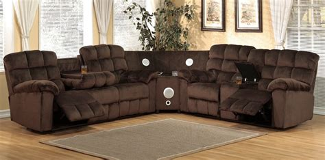 sectional sofa 3pcs microfiber sectionals sofa in 6 colors java 3pcs reclining sectional michaels furniture store view