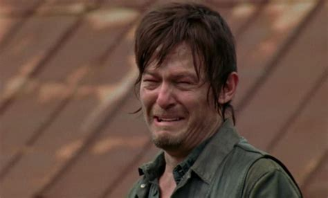 Walking Dead Meme Rick Crying - people magazine spoils kirk douglas death walking dead likely next ifc