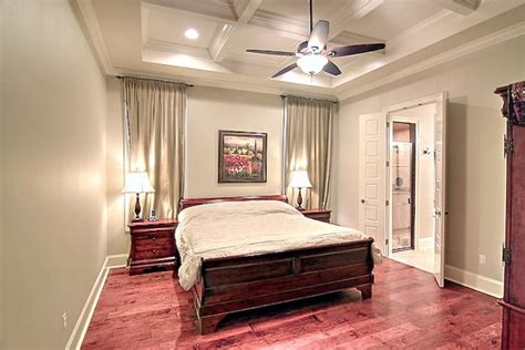 coffered ceiling bedroom simple master bedroom with coffered ceilings