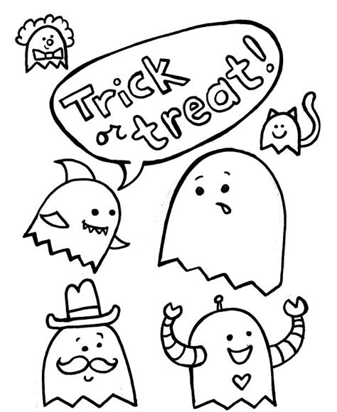 happy halloween coloring pages games cute cartoon ghost eldonianews com