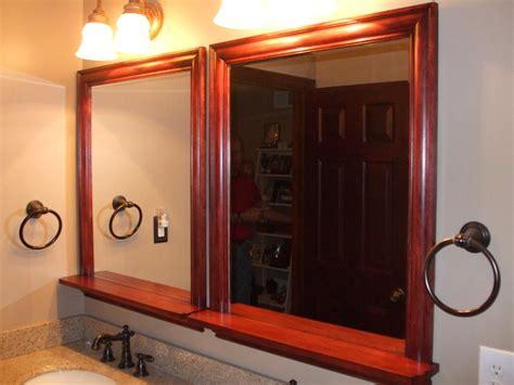 cherry bathroom mirror cherry bathroom mirrors by mike001 lumberjocks