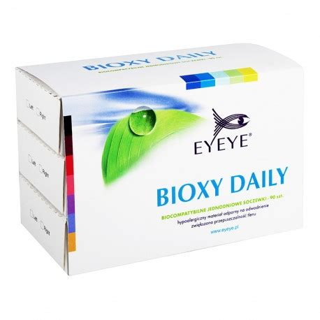 the cheapest eyeye bioxy daily (90 lenses) lenses!