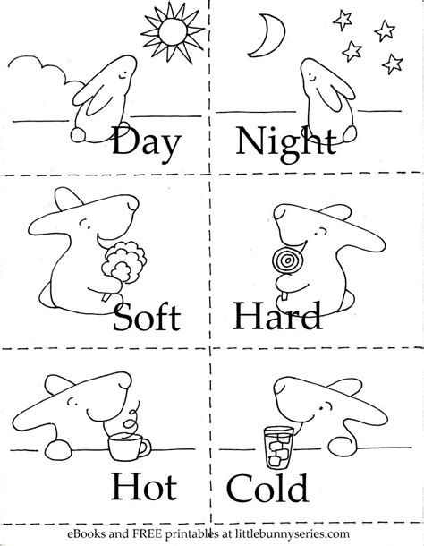 opposites coloring pages preschool click on the above image for a pdf of the opposites 3 in