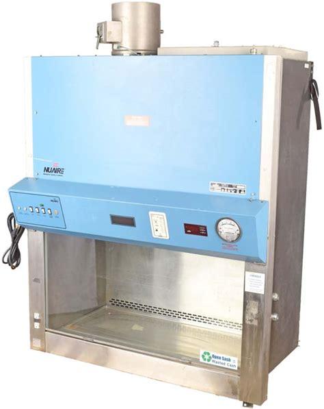 nuaire nu 430 400 lab exhaust fume laminar flow