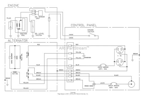 generac gp5500 parts diagram generac generator parts
