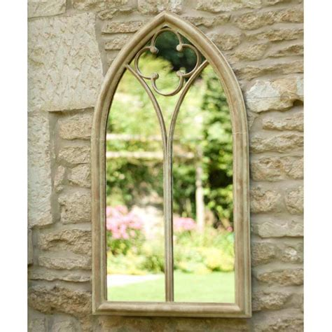 La Hacienda Church Window Garden Mirror On Sale Fast Garden Wall Mirrors