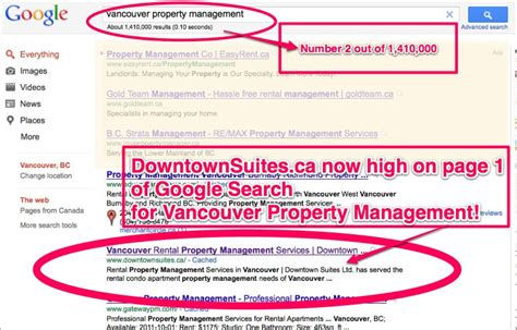 Vancouver Property Records Downtown Suites High On Search For Vancouver Property Management Downtown