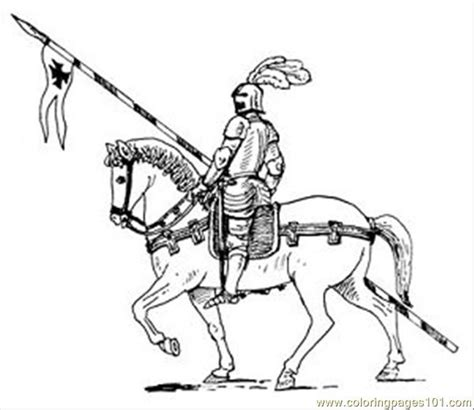 printable coloring pages knights horse05 coloring page free knights coloring pages