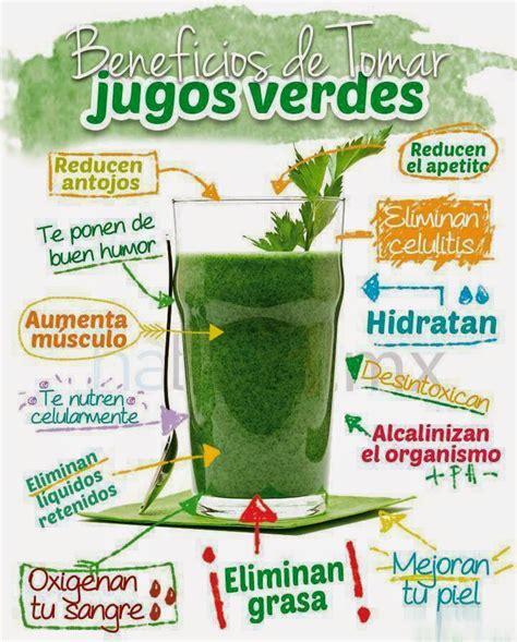 Jugo Verde Detox De Las Famosas todomike receta de zumo jugo verde y beneficios