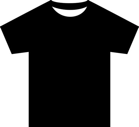 free vector graphic t shirt shirt silhouette black free image on pixabay 311732