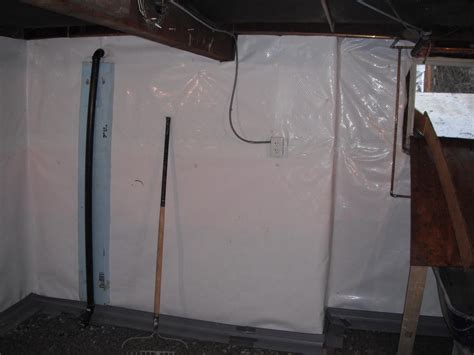 cleanspace vapor barrier installed in toronto basement
