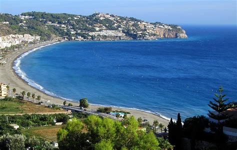 Terrace Awning Holiday Villa For Rent In La Herradura Pena Parda La