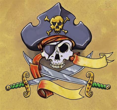 tattoo pirate cartoon 23 pirate skull tattoo designs
