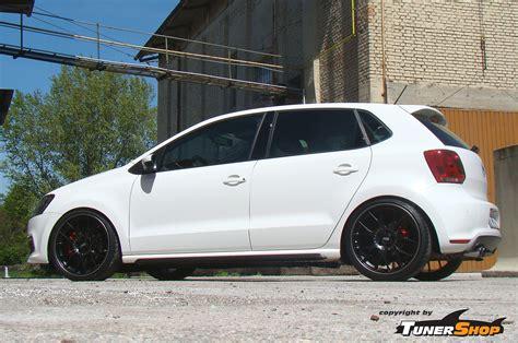 polo volkswagen black black bbs ch wheels for volkswagen vw polo tunershop