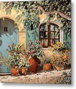 porta azzurra la porta azzurra painting by guido borelli