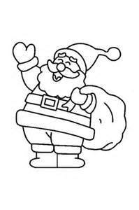 free printable santa claus coloring pages barriee